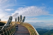 Golden Bridge Ba Na hills Viet Nam